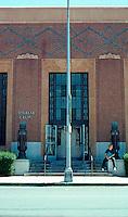 Visalia CA: U.S. Post Office, 1932. Elevation.