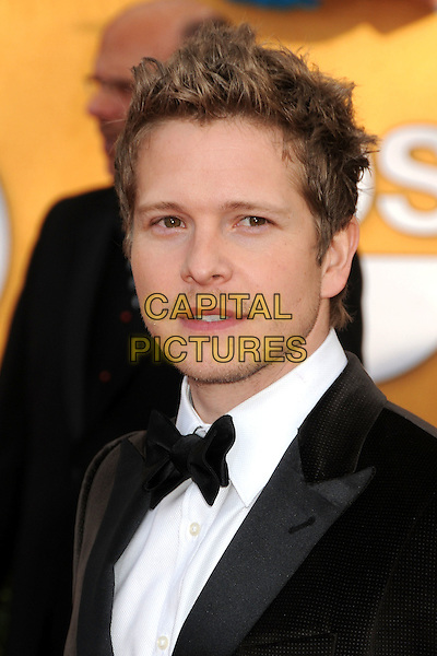 MATT CZUCHRY.17th Annual Screen Actors Guild Awards held at The Shrine Auditorium, Los Angeles, California, USA..January 30th, 2011.SAG arrivals headshot portrait black white stubble facial hair bow tie.CAP/ADM/BP.©Byron Purvis/AdMedia/Capital Pictures.