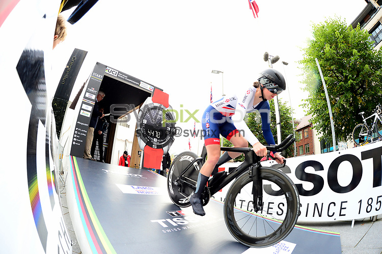Picture by Simon Wilkinson/SWpix.com - 18/09/2017 - Cycling UCI 2017 Road World Championships Bergen Norway - ITT Individual Time