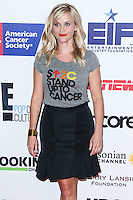 HOLLYWOOD, LOS ANGELES, CA, USA - SEPTEMBER 05: Reese Witherspoon arrives at the 4th Biennial Stand Up To Cancer held at Dolby Theatre on September 5, 2014 in Hollywood, Los Angeles, California, United States. (Photo by Xavier Collin/Celebrity Monitor)