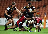 1st August 2020, Hamilton, New Zealand;  Chiefs lock Tupou Vaa'i. Chiefs versus Crusaders, Super Rugby Aotearoa. FMG Stadium Waikato, Hamilton, New Zealand.