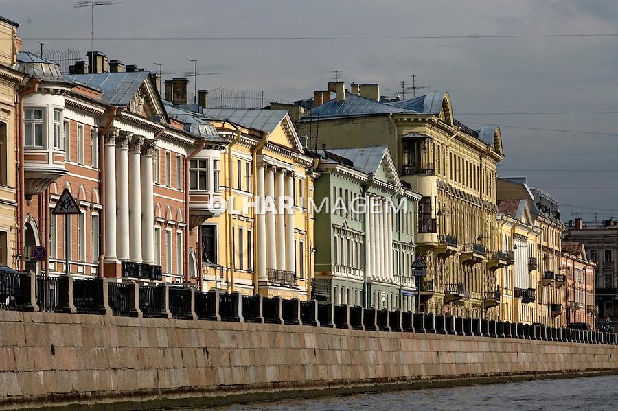 Edifícios em São Petersburgo. Russia. 2008. Foto de Cris Berger.