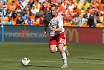 14 JUN 2010: Thomas Enevoldsen (DEN). The Netherlands National Team defeated the Denmark National Team 2-0 at Soccer City Stadium in Johannesburg, South Africa in a 2010 FIFA World Cup Group E match.