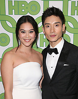 BEVERLY HILLS, CA - JANUARY 6: Dianne Doan, Manny Jacinto, at the HBO Post 2019 Golden Globe Party at Circa 55 in Beverly Hills, California on January 6, 2019. <br /> CAP/MPI/FS<br /> ©FS/MPI/Capital Pictures