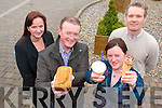 FOODIE IDEAS: At the Kerry Food Network training seminar in Tralee on Wednesday morning were l-r: Eilish Broderick (North and East Kerry Development), Jim McCarthy (Charthouse Restaurant, Dingle), Margaret McCarthy (Kenmare Ice Cream), Sean Linnane (North and East Kerry Development).