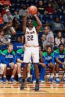 SAN ANTONIO, TX - NOVEMBER 24, 2017: The University of Texas at San Antonio Roadrunners defeat the Texas A&M University-Corpus Christi Islanders 72-58 at the UTSA Convocation Center. (Photo by Jeff Huehn)