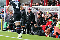 O's Ross Embleton's last game in charge during Grimsby Town vs Leyton Orient, Sky Bet EFL League 2 Football at Blundell Park on 19th October 2019