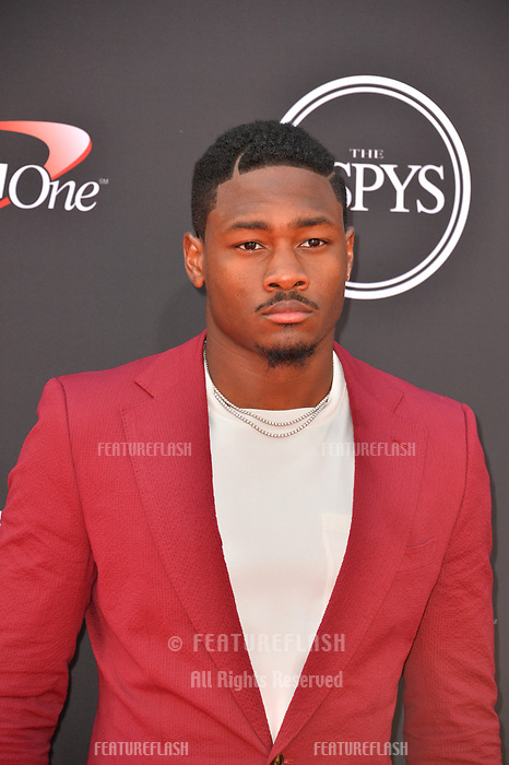 Stefon Diggs at the 2018 ESPY Awards at the Microsoft Theatre LA Live, Los Angeles, USA 18 July 2018<br /> Picture: Paul Smith/Featureflash/SilverHub 0208 004 5359 sales@silverhubmedia.com