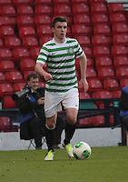 Michael Miller in the Dunfermline Athletic v Celtic Scottish Football Association Youth Cup Final match played at Hampden Park, Glasgow on 1.5.13.