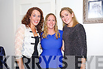 Dee Nolan, Jennifer Hollywood, Susan O'Carroll Jennifer Hollywood Moving to New Zealand for a Research Fellowship enjoying a girls night out at Bella Bia's on Saturday pictured Dee Nolan, Jennifer Hollywood, Susan O'Carroll