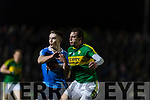 David Moran Kerry in action against Brian Fenton Dublin in the National League in Austin Stack park on Saturday night.