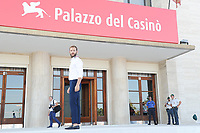 Italian actor Alessandro Borghi poses at Lido Beach ahead of the 74th annual Venice International Film Festival, in Venice, Italy, August 29, 2017. Borghi will host the opening and closing ceremony of the festival that will be held from August 30 to September 9.<br /> UPDATE IMAGES PRESS/Marilla Sicilia<br /> <br /> *** ONLY FRANCE AND GERMANY SALES ***