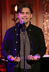 "Andy Mientus from the cast of ""The Jonathan Larson Project"" during the press preview on October 3, 2018 at Feinstein's/54 Below in New York City."