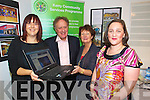 Pictured at the launch of the Kerry services programme website on Friday were Elaine Kennedy, Vincent Browne, Theresa Coughlan and Nicola Lawless.