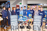 Tralee IT footballers launching the partnership iwth Garveys in Castleisland on Friday