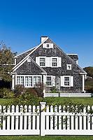 Traditional Cape Cod style house, Dennisport, Cape Cod, MA, Massachusetts