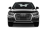 Car photography straight front view of a 2018 Audi Q5 Design 5 Door SUV