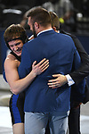 BIRMINGHAM, AL - MARCH 11:  Keith Surber of the University of Nebraska-Kearney celebrates after defeating Juwan Edmond of Notre Dame College in the 149 lb weight class during the Division II Men's Wrestling Championship held at the Birmingham CrossPlex on March 11, 2017 in Birmingham, Alabama. (Photo by Jamie Schwaberow/NCAA Photos via Getty Images)