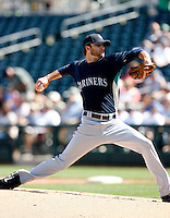 Brandon Morrow -  Seattle Mariners - 2009 spring training.Photo by:  Bill Mitchell/Four Seam Images