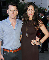 NEW YORK, NY-August 04: Christian Campbell,  America Olivo at Bleecker Street present the premiere of Anthropoid  at the AMC Lincoln Square in New York. NY August 04, 2016. Credit:RW/MediaPunch