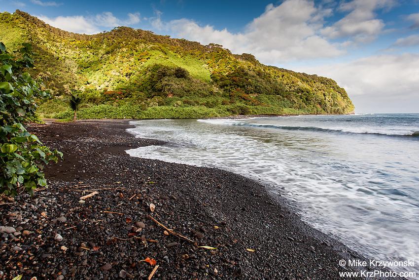 Honomanu Bay, on the road to Hana, Maui