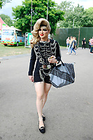 JUN 04 Jodie Harsh attending Mighty Hoopla Festival