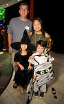 Margaret and Paul Pinkston with Teresa,7, and Luke,5,at the Little Galleria Halloween Spooktacular presented by MD Anderson Children's Cancer Hospital at The Galleria Sunday Oct. 30,2016.(Dave Rossman photo)