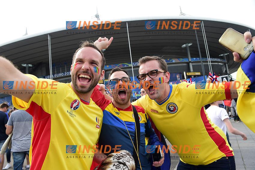 Tifosi Romania <br /> Paris 10-06-2016 Stade de France football Euro2016 France - Romania  / Francia - Romania Group Stage Group A. Foto JB Autissier / Panoramic / Insidefoto