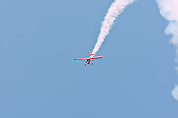 May 28, 2011.  A stunt plane performs at the St. Augustine Air Show in St. Augustine, Florida