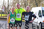 Pat Dunworth, Robert Purcell and Billy O'Brien at the Valentines 10 mile road race in Tralee on Saturday.