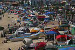San Felipe crowds during Spring Break