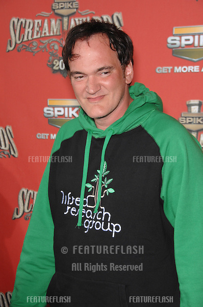 QUENTIN TARANTINO - winner of Scream Mastermind award - at the Spike TV Scream Awards 2006 at the Pantages Theatre, Hollywood..October 7, 2006  Los Angeles, CA.Picture: Paul Smith / Featureflash