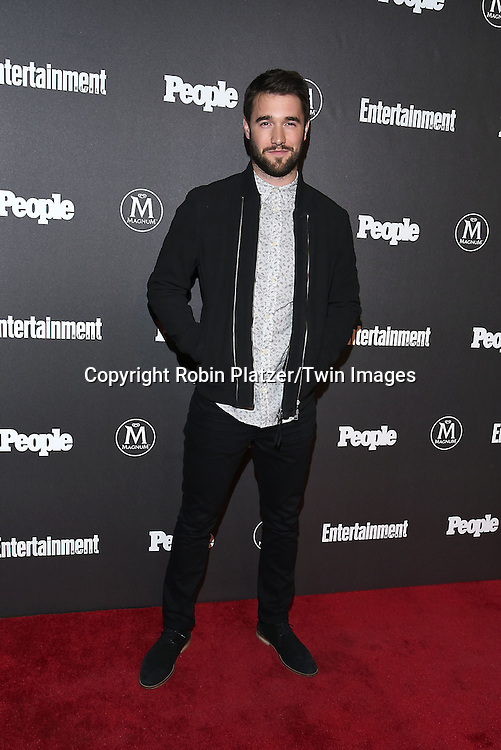 Josh Bowman attends the Entertainment Weekly &amp; PEOPLE Magazine New York Upfronts Celebration on May 16, 2016 at Cedar Lake in New York, New York, USA.<br /> <br /> photo by Robin Platzer/Twin Images<br />  <br /> phone number 212-935-0770
