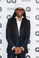 Nile Rodgers arrives for the GQ Men Of The Year Awards 2016 at the Tate Modern, London