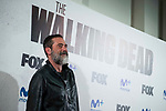 "Jeffrey Dean Morgan attends to an event with fans of ""The Walking Dead"" at Cines Capitol in Madrid. March 09, 2017. (ALTERPHOTOS/Borja B.Hojas)"