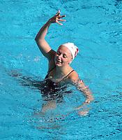 Stanford, CA; Sunday February 22, 2015; Synchronized Swimming, Stanford vs Lindenwood.