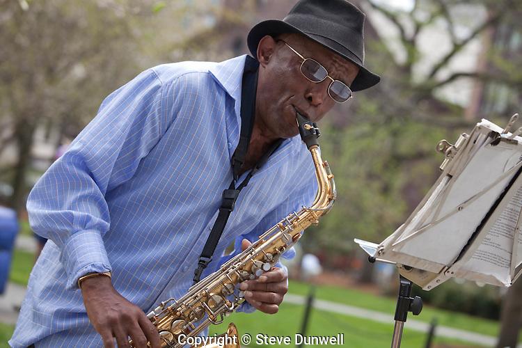 Markeety  Tate, Public Garden spring, Boston, MA