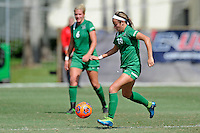 8 November 2015:  Marshall Forward Mack Moore (10) advances the ball in the first half as the University of North Texas Mean Green defeated the Marshall University Thundering Herd, 1-0, in the Conference USA championship game at University Park Stadium in Miami, Florida.
