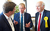 Tim Farron joins Vince Cable, Liberal Democrat Shadow Chancellor and candidate for Twickenham, on a visit to the HQ of Graze, one of the 100 fastest growing companies in the UK, <br /> <br /> The met Graze CEO Anthony Fletcher<br /> <br /> Tim Farron <br /> Vince Cable <br /> <br /> <br /> <br /> Photograph by Elliott Franks <br /> Image licensed to Elliott Franks Photography Services
