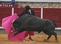 Bullfighter  Jose Maria Manzanares in action