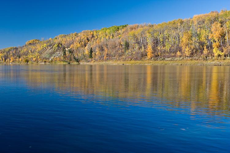 Fall Morning along the North Saskatchewan River Valley in Edmonton