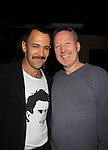 "Days Sebastian La Cause poses with American theater producer, composer, conductor and pianist James McDaniel at a private screening of Sebastian La Cause's web series ""Hustling"" Season Two - 'cause everybody got a hustle -  was held on November 19, 2012 at TriBeca's Cinemas, New York City, New York. Days of our Lives ""Silvio"", One Live To Live and All My Children's Sebastian is the creator of Hustling along with being the writer, director and star (Photo by Sue Coflin/Max Photos)"