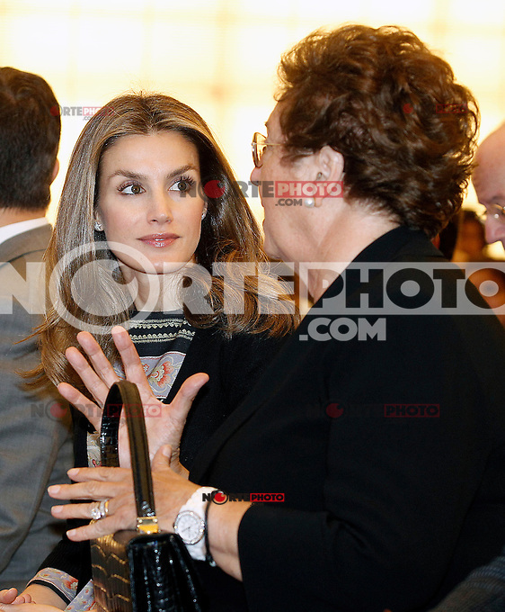 Principe Felipe de Espa&ntilde;a.<br /> Spanish Royals Inaugurate 'Casa Del lector' in Madrid.18,Octubre,2012.<br /> <br /> (Alvaro/AlterPhoto/NortePhoto)