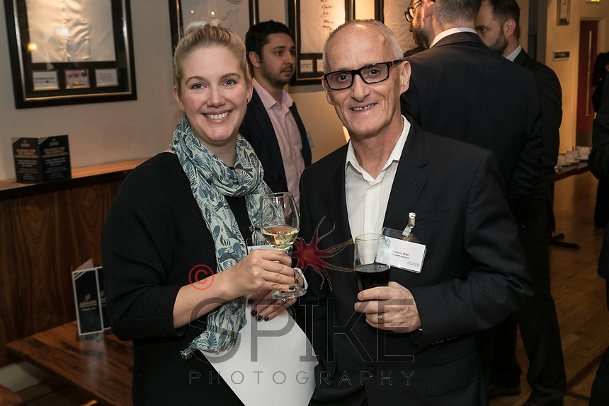 Kathryn Rogers of Face2Face HR and Graham Miller of Double Impact