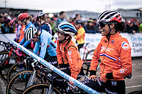 Ceylin Del Carmen Alvarado (NED)  pre race<br /> <br /> Women's Elite Race<br /> UCI 2020 Cyclocross World Championships<br /> Dübendorf / Switzerland<br /> <br /> ©kramon