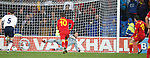 Gareth Bale scores from the penalty spot
