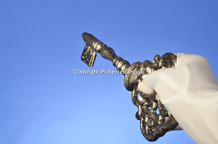 Stock photo of Vintage Key
