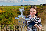 Presentation Secondary School Castleisland 1st year student, Rachel Griffin from Scartaglin with her robot project called Stop Motion, having just completed a three week stop motion animation projectremotely in Art at home