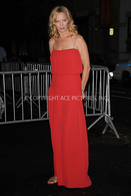 WWW.ACEPIXS.COM . . . . . .June 9, 2011...New York City...Uma Thurman enters the Stephan Weiss Studios on June 9, 2011 in New York City.  on June 9, 2011 in New York City.....Please byline: KRISTIN CALLAHAN - ACEPIXS.COM.. . . . . . ..Ace Pictures, Inc: ..tel: (212) 243 8787 or (646) 769 0430..e-mail: info@acepixs.com..web: http://www.acepixs.com .
