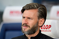 Lincoln City's assistant manager Nicky Cowley<br /> <br /> Photographer Chris Vaughan/CameraSport<br /> <br /> The Carabao Cup First Round - Huddersfield Town v Lincoln City - Tuesday 13th August 2019 - John Smith's Stadium - Huddersfield<br />  <br /> World Copyright © 2019 CameraSport. All rights reserved. 43 Linden Ave. Countesthorpe. Leicester. England. LE8 5PG - Tel: +44 (0) 116 277 4147 - admin@camerasport.com - www.camerasport.com